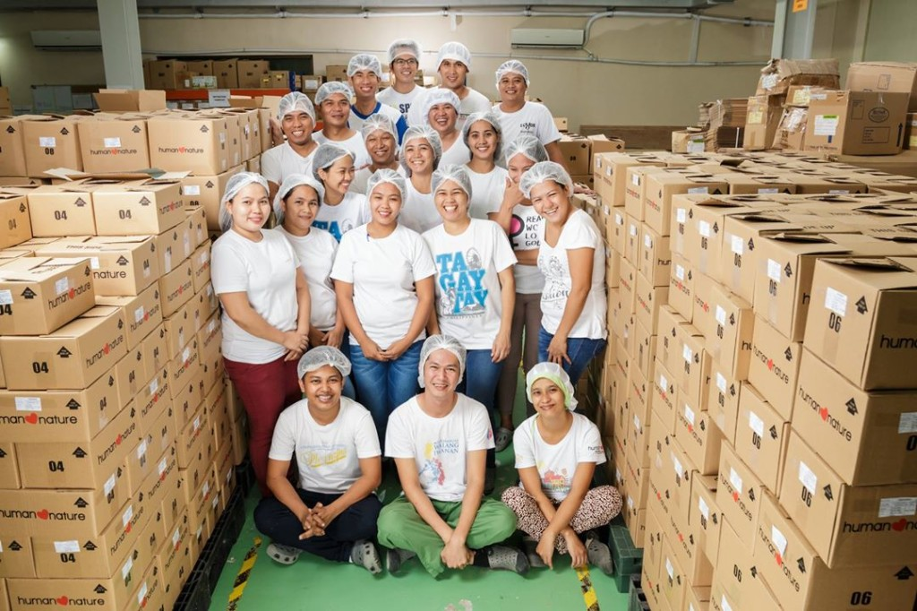 The hardworking personnel of the manufacturing plant at Human Nature