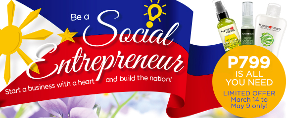 Be a Social Entrepreneur: P799 is All You Need! / Human Nature