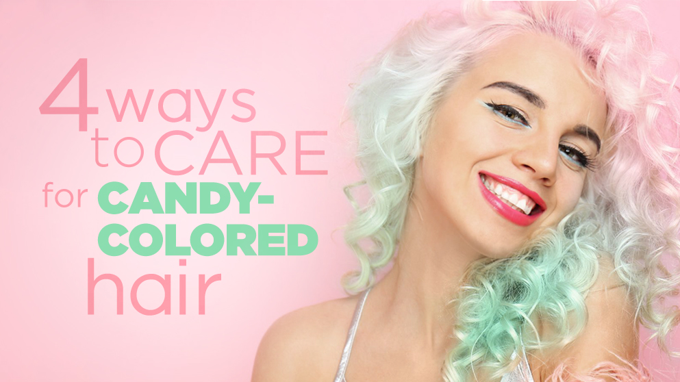 keep your colors merry and bright as you waltz through all your christmas celebrations with these 4 easy ways to care for your candy colored hair naturally