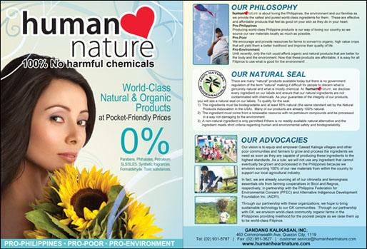 Human Nature Sunflower Oil Underarm Review