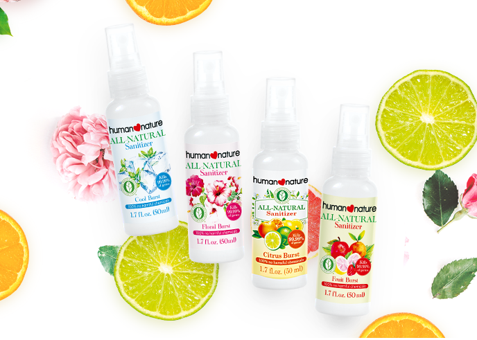 All-Natural Sanitizers