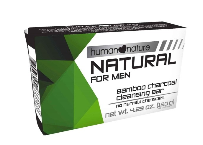 Bamboo Charcoal Cleansing Bar for Men